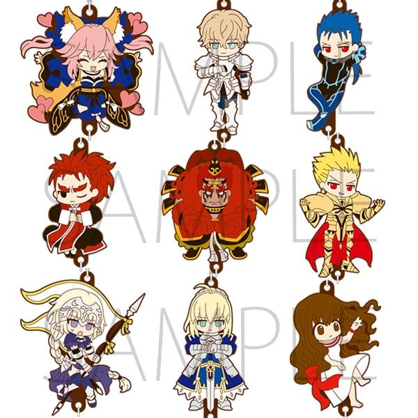 Fate/EXTELLA ラバーストラップコレクションB
