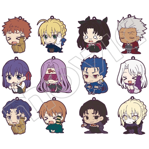 劇場版「Fate/stay night[Heaven's Feel]」 ViVimusラバーストラップコレクション