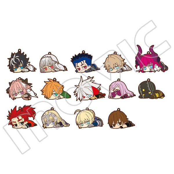 Fate/EXTELLA LINK だる〜んラバーストラップコレクション Vol.1