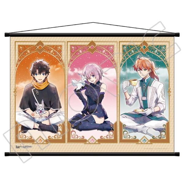 Fate/Grand Order -絶対魔獣戦線バビロニア- タペストリー 立香&マシュ&ロマニ