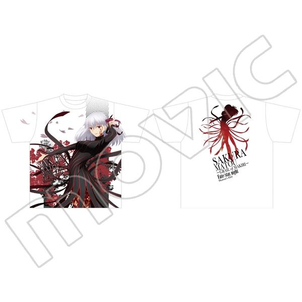 劇場版「Fate/stay night[Heaven's Feel]」 フルグラフィックTシャツ 間桐桜─マキリの杯─