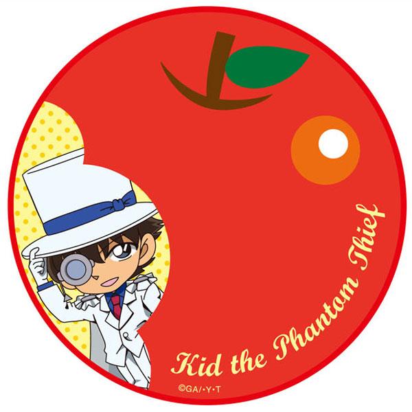 名探偵コナン 円形タオル リンゴ・キッド