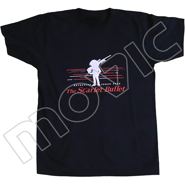 劇場版『名探偵コナン 緋色の弾丸』 Tシャツ Lサイズ