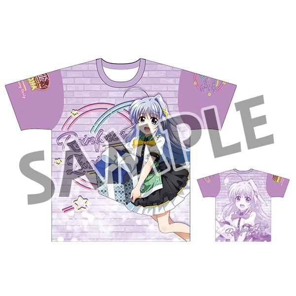魔法少女リリカルなのは 15th Anniversary Party フルグラフィックTシャツ リインフォース�U