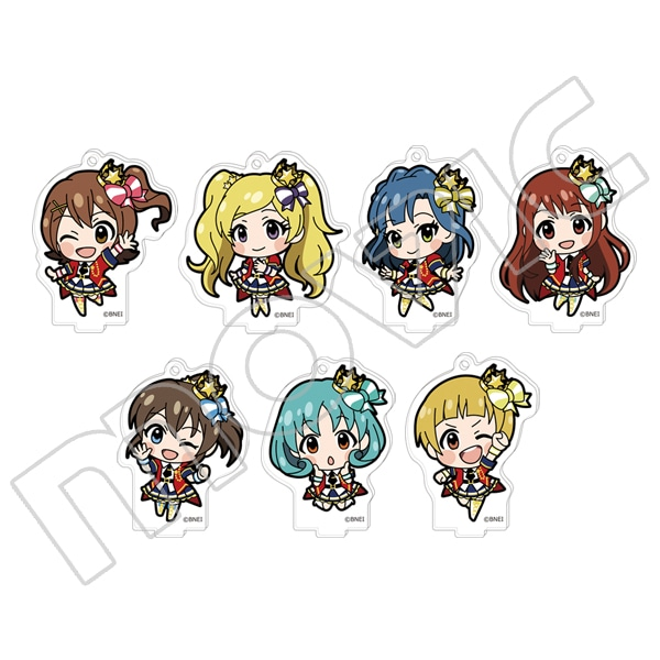 アイドルマスター ミリオンライブ! スタンド付きアクリルキーホルダーコレクション Princess