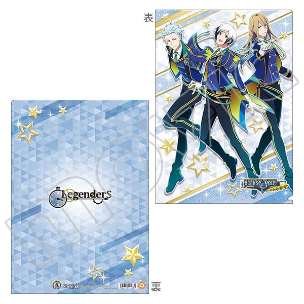 アイドルマスター SideM クリアファイル 5周年 Legenders