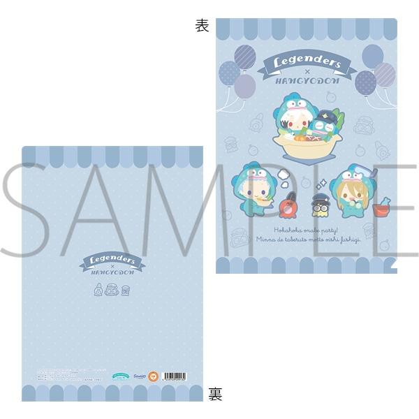 アイドルマスター SideM クリアファイル サンリオキャラクターズ Legenders×ハンギョドン