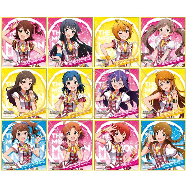 アイドルマスター ミリオンライブ! ミニ色紙コレクション
