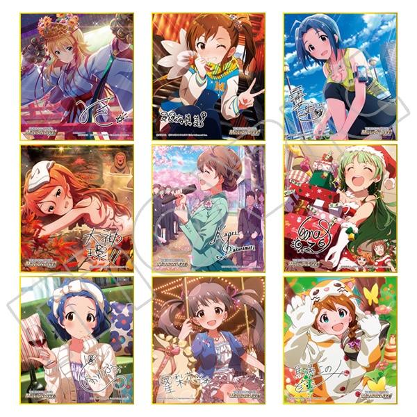 アイドルマスター ミリオンライブ! ミニ色紙コレクション Angel vol.1