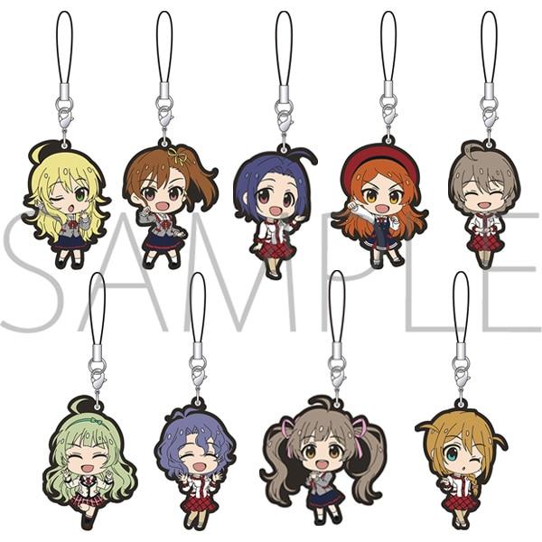 アイドルマスター ミリオンライブ! ラバーストラップコレクション 制服シリーズ Angel vol.1