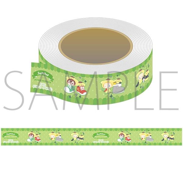 アイドルマスター SideM マスキングテープ サンリオキャラクターズ Jupiter×ポムポムプリン