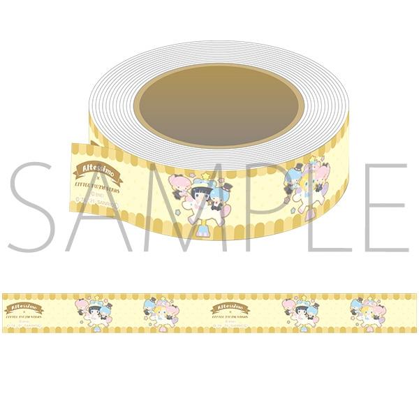 アイドルマスター SideM マスキングテープ サンリオキャラクターズ Altessimo×リトルツインスターズ