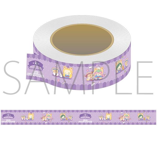 アイドルマスター SideM マスキングテープ サンリオキャラクターズ 彩×ぽこぽん日記