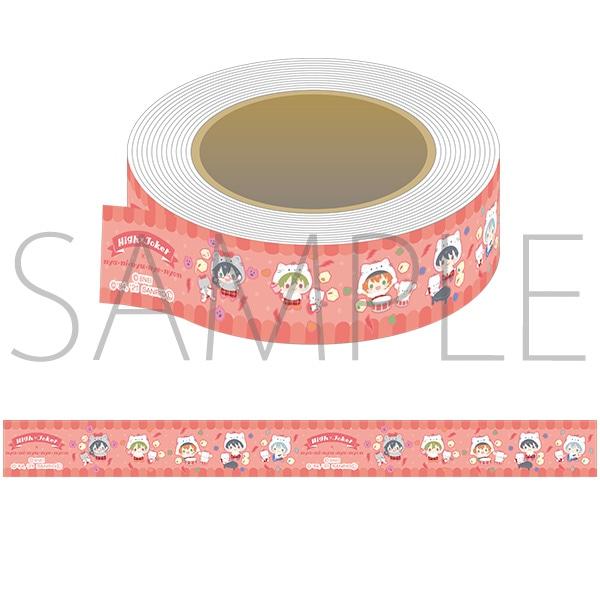 アイドルマスター SideM マスキングテープ サンリオキャラクターズ High×Joker×ニャニィニュニェニョン