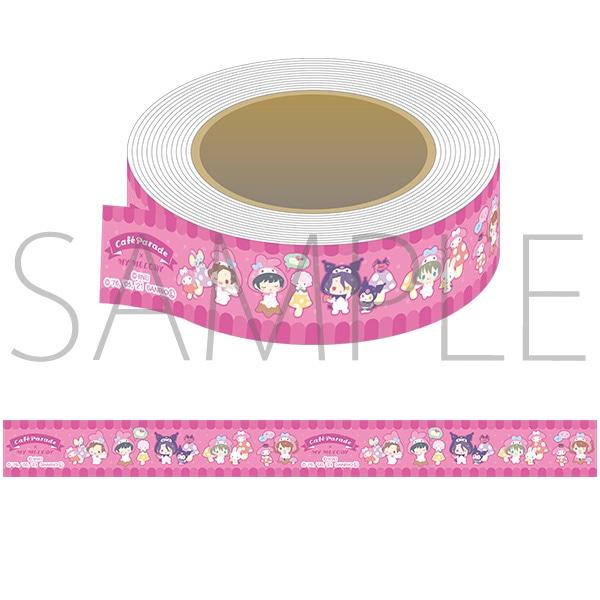 アイドルマスター SideM マスキングテープ サンリオキャラクターズ Cafe Parade×マイメロディ