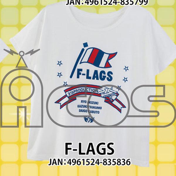 アイドルマスター SideM Tシャツ F-LAGS