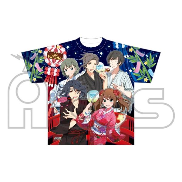アイドルマスター SideM ユニットビジュアルTシャツ/cafe Parade