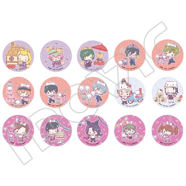 アイドルマスター SideM キャラバッジコレクション サンリオキャラクターズ B アイドルマスター SideM×サンリオキャラクターズ