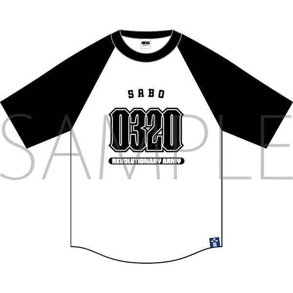 ONE PIECE ASL ラグランTシャツ サボ M