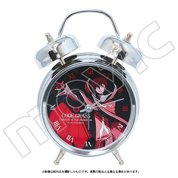 【受注生産限定商品】コードギアス 反逆のルルーシュ 音声入り目覚まし時計