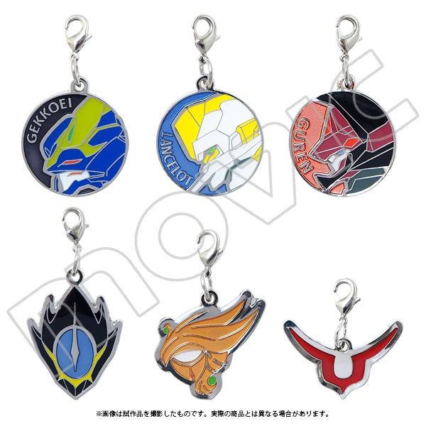 【パック販売】コードギアス 復活のルルーシュ メタルチャームコレクション(6種)