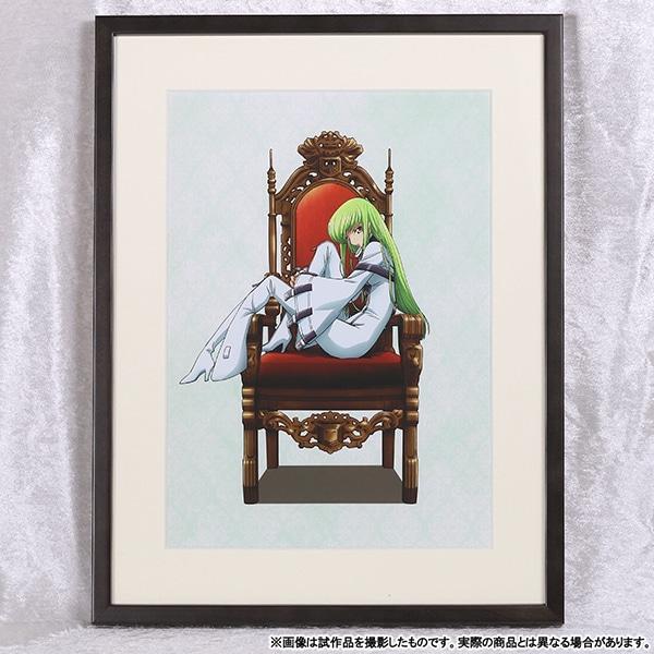 コードギアス 反逆のルルーシュ�V 皇道 複製原画 C.C. 【受注生産限定】