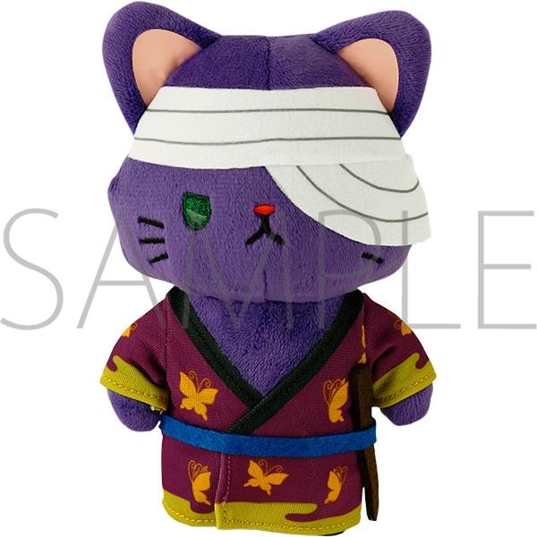 銀魂 withCATアイマスク付きぬいぐるみキーホルダー 高杉晋助