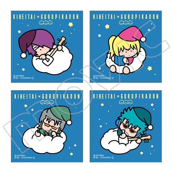 銀魂 ステッカーセット 鬼兵隊 おやすみ 銀魂×サンリオキャラクターズ