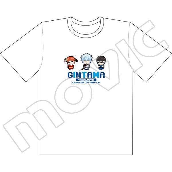 銀魂 Tシャツ 万事屋(ドット絵)