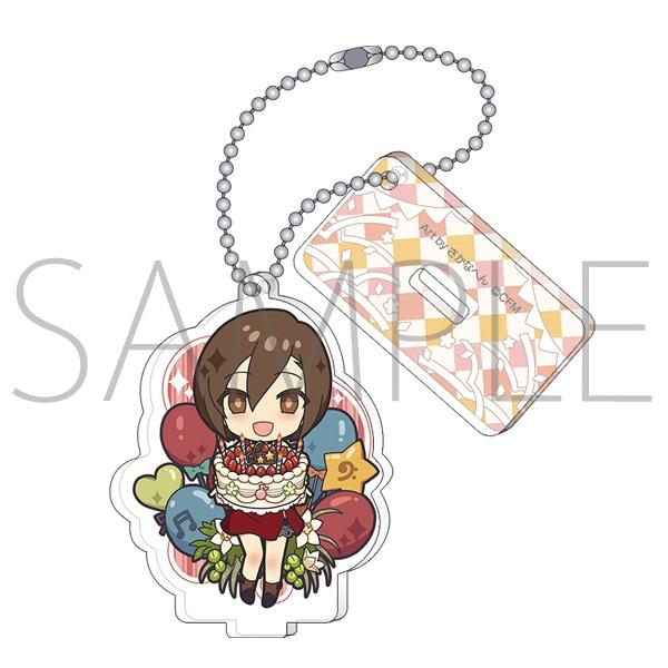 「MEIKO 生誕15周年記念祭 〜Fleur rouge〜」事後通販 スタンド付きアクリルキーホルダー さかなへん MEIKO