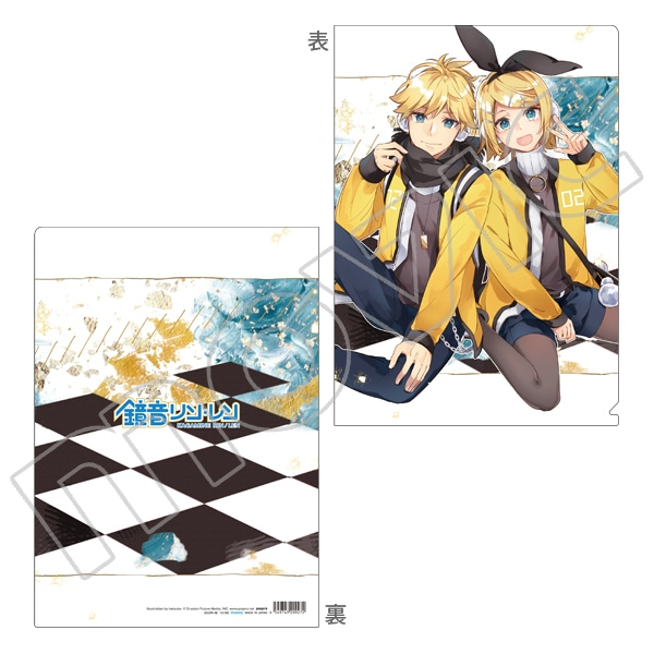 初音ミクシリーズ クリアファイル hatsuko リンレン
