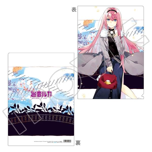 初音ミクシリーズ クリアファイル hatsuko ルカ