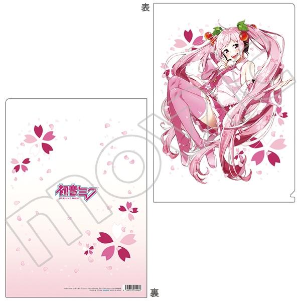 初音ミクシリーズ クリアファイル 桜木蓮 桜ミク