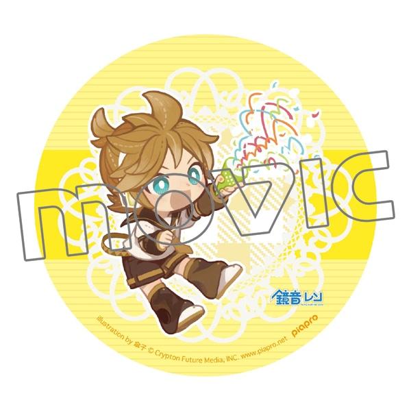 初音ミクシリーズ ダイカットステッカー レン(傘子Ver.)