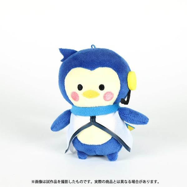 初音ミクシリーズ ぬいぐるみストラップ(イラストカード付き) しゅがお KAITOペンギン