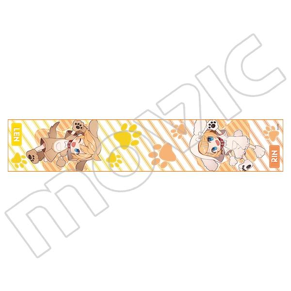 初音ミクシリーズ ミニマフラータオル しゅがお リン&レン