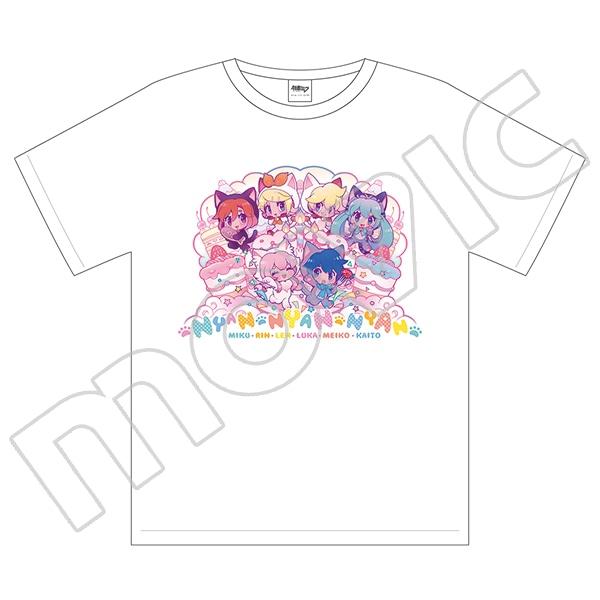 初音ミクシリーズ Tシャツ ソウノ キャットパーティー
