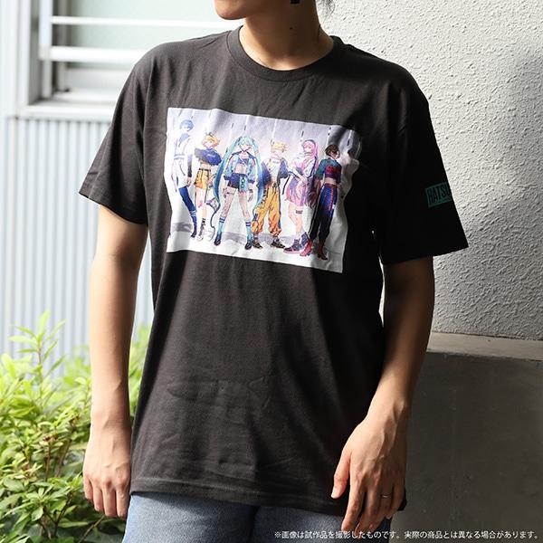 初音ミクシリーズ Tシャツ スタイリッシュアイドル 秋赤音 Lサイズ