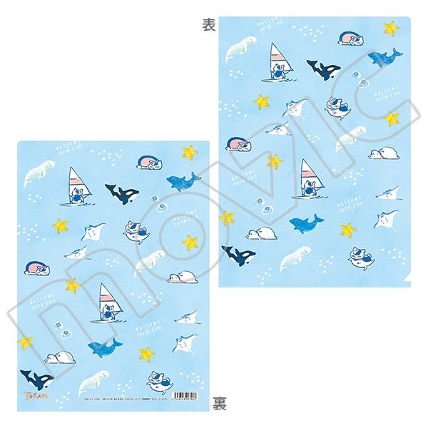 夏目友人帳 ニャンコ先生クリアファイル 海の生き物2