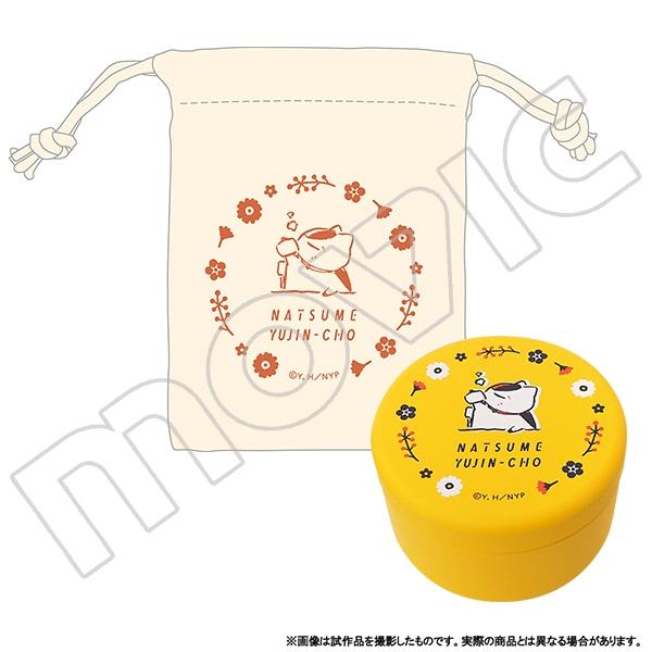 夏目友人帳 ニャンコ先生巾着付きお茶缶 マグカップ柄