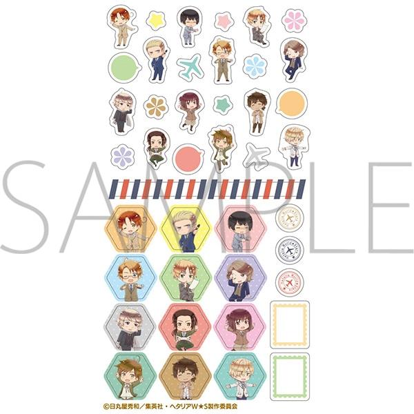 ヘタリア World★Stars スケジュールシール