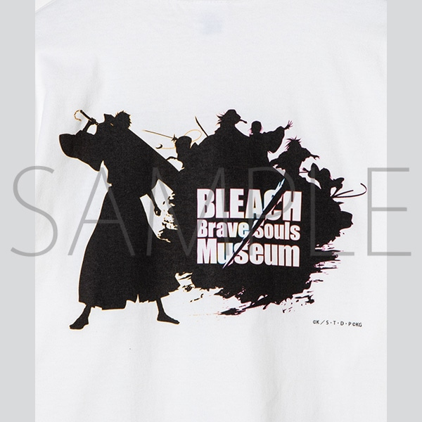 『BLEACH Brave Souls Museum』通信販売 BLEACH Brave Souls Museum コラボロンTEE(ロゴ) M