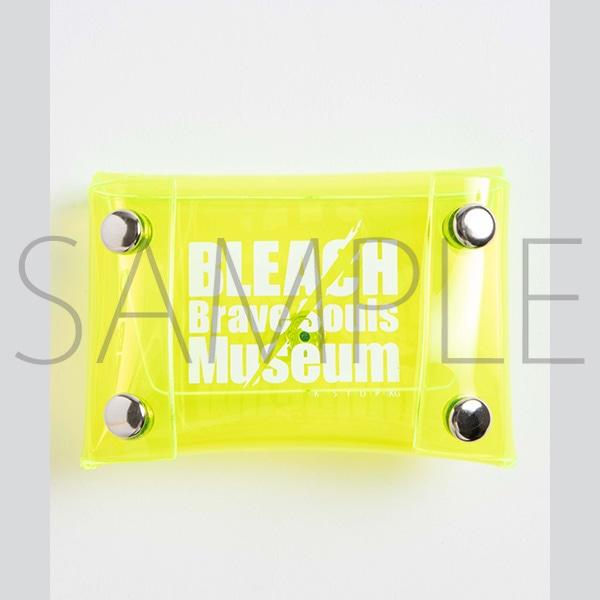 『BLEACH Brave Souls Museum』通信販売 BLEACH Brave Souls Museum コラボクリアポーチ(ロゴ)