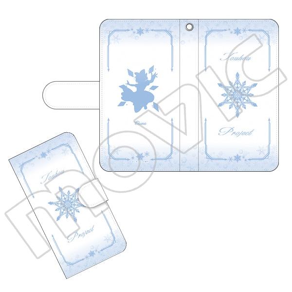 東方Project 手帳型スマートフォンケース チルノ