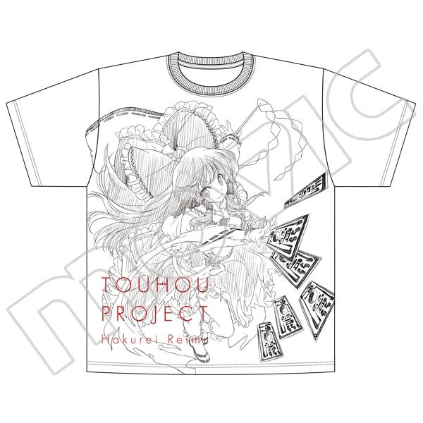 東方Project オーバーサイズTシャツ 博麗霊夢