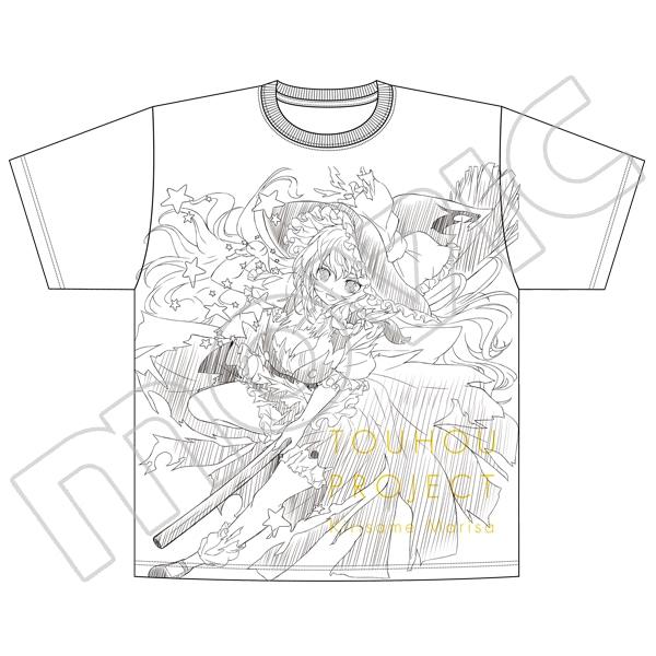 東方Project オーバーサイズTシャツ 霧雨魔理沙