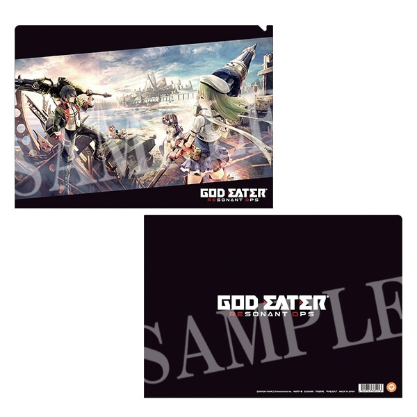 GOD EATER RESONANT OPS クリアファイル A