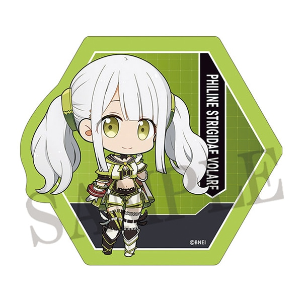 GOD EATERシリーズ ステッカー フィリーネ・ストリッジデイ・ウォラーレ(ちびキャラ)