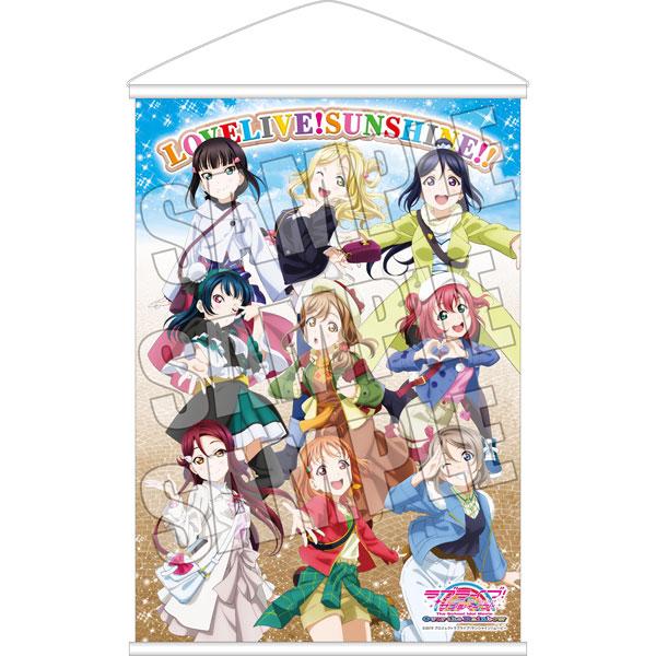 「ラブライブ!サンシャイン!! The School Idol Movie Over the Rainbow」アニメイトグループ限定B3タペストリー付前売券