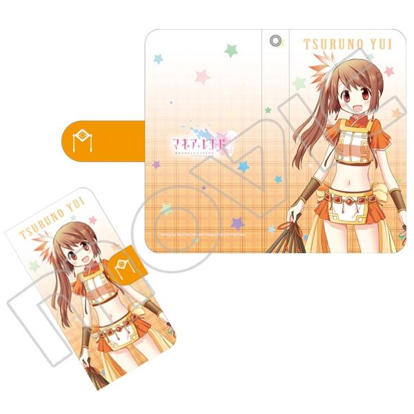 マギアレコード 魔法少女まどか☆マギカ外伝 手帳型スマートフォンケース 由比鶴乃
